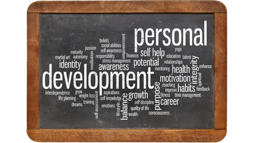 Personal development: joining the dots between past, present and future