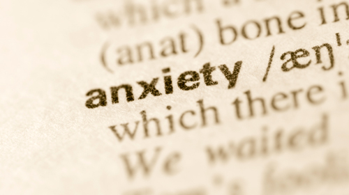 Top tips for calming your anxiety