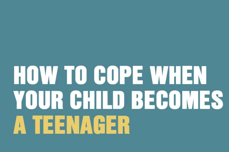 How to cope when your child becomes a teenager