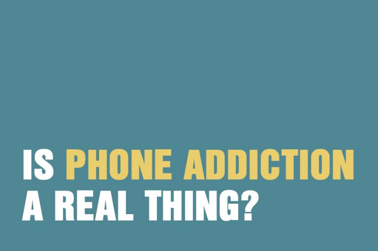 Is phone addiction a real thing?