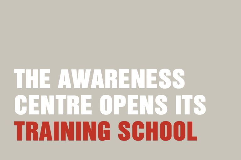 The Awareness Centre Opens Its Training School