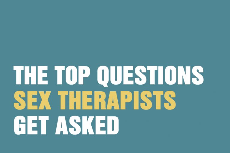 The Top Questions Sex Therapists Get Asked