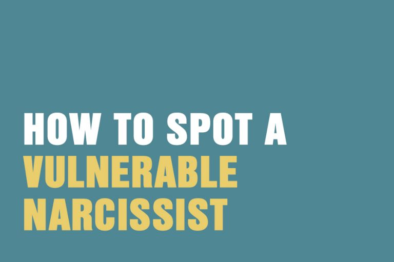 You narcissist a signs are 11 Sickening