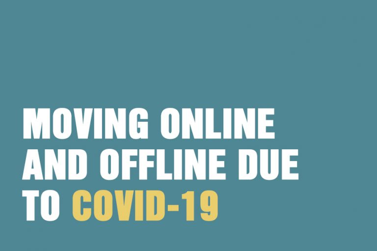 Moving Online And Offline Due To Covid-19
