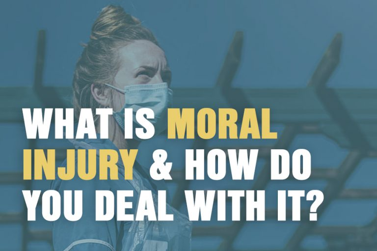 What is Moral Injury? & How Do You Deal With It?